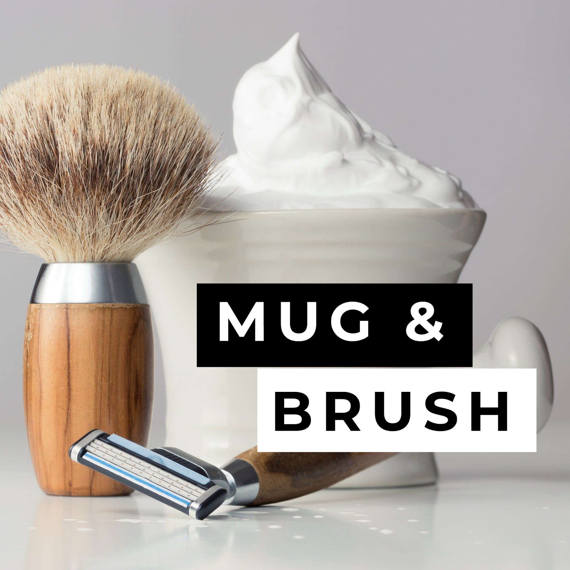 Mug and Brush Candle