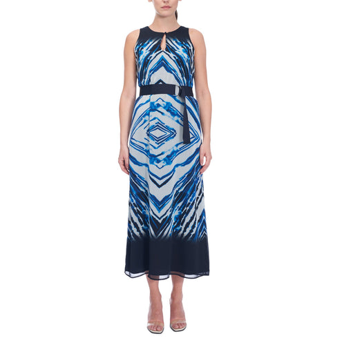 Iris Setlakwe Azure Print Dress