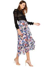 Load image into Gallery viewer, Misa Themis Skirt in Tie-Dye Floral