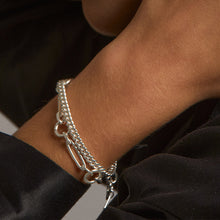 Load image into Gallery viewer, PILGRIM SENSITIVITY SILVER BRACELET