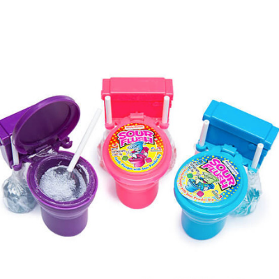 Sour Flush Candy Toilet