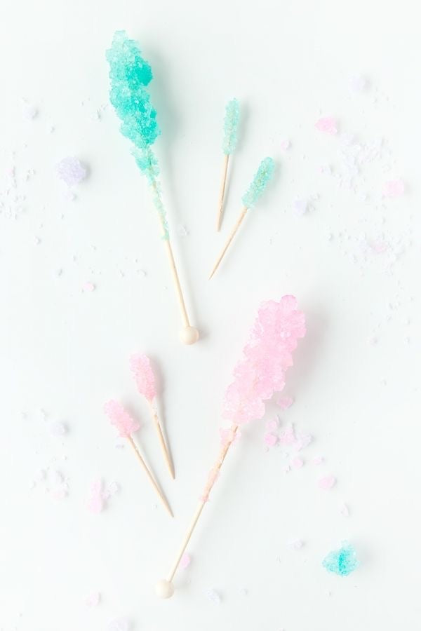 Rock Candy Crystal Sticks