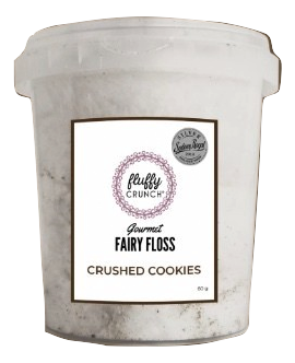 Fluffy Crunch Fairy Floss - Crushed Cookies 90g