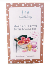 Load image into Gallery viewer, Huckleberry - Bath Bomb Making Kits