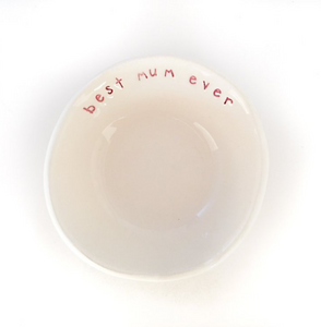 Caroline C - Best Mum Ever Ceramic Bowl