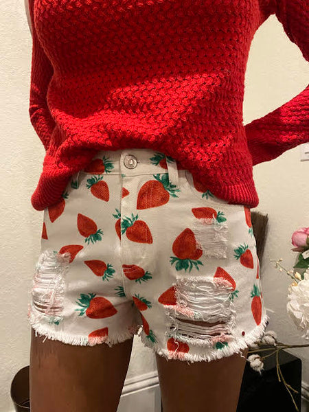 Sweet as a Strawberry Shorts