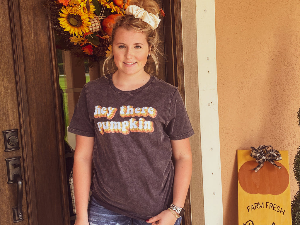 Hey Pumpkin Graphic Tee