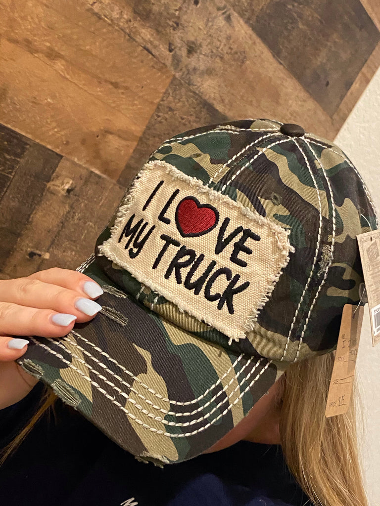 I Love My Track Hat