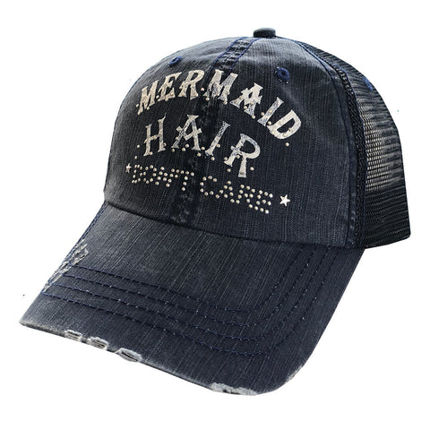 Mermaid Hair Don't Care Mesh Cap