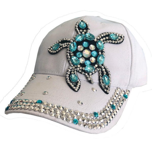 Crystallized Sea Turtle Cap