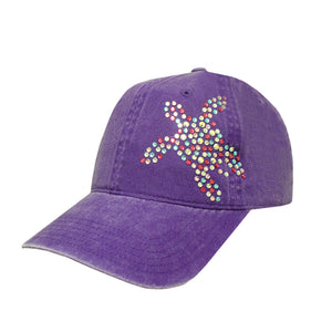 Iridescent Sea Turtle Cap