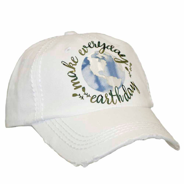Make Everyday Earth Day Cap