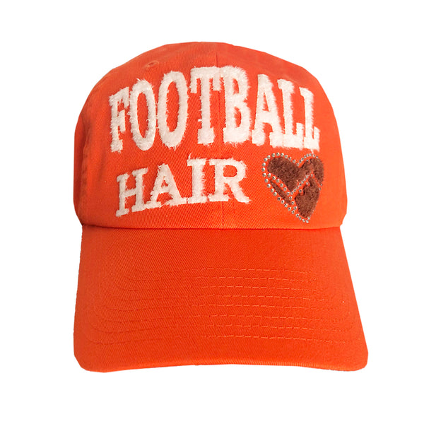 Football Hair Don't Care Cap