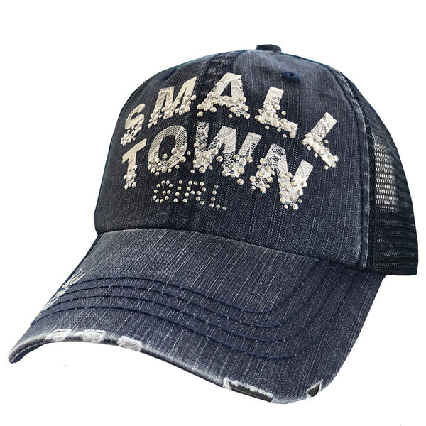 Small Town Girl Lace Cap Mesh