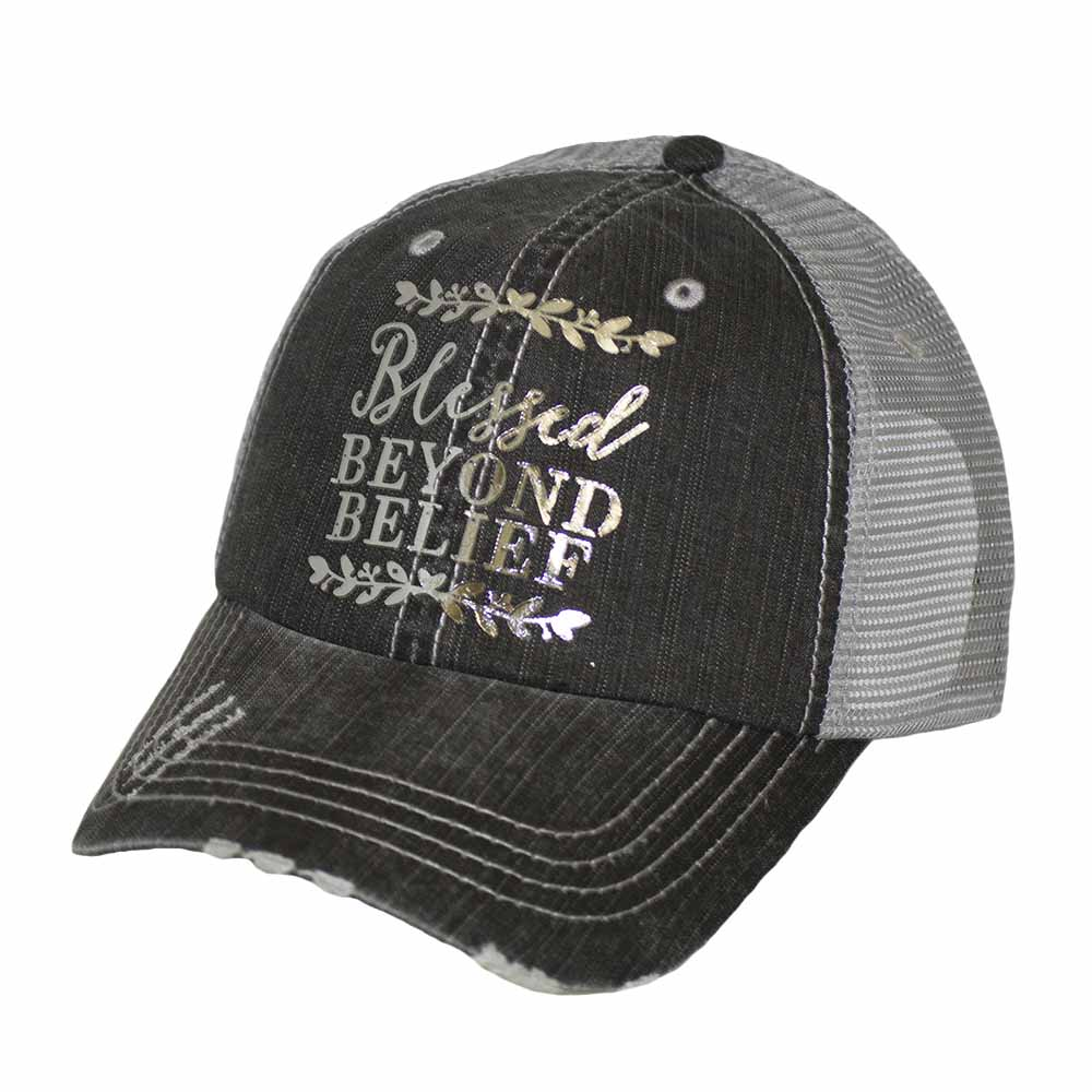 Blessed Beyond Belief Mesh Cap