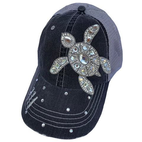 Clear Crystal Sea Turtle Cap
