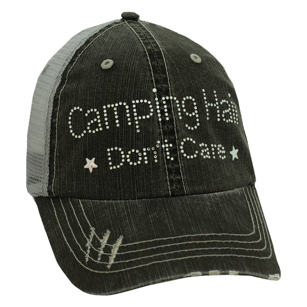 Camping Hair Don't Care Cap