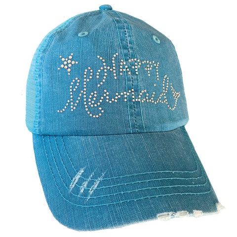 Happy Mermaid Mesh Cap