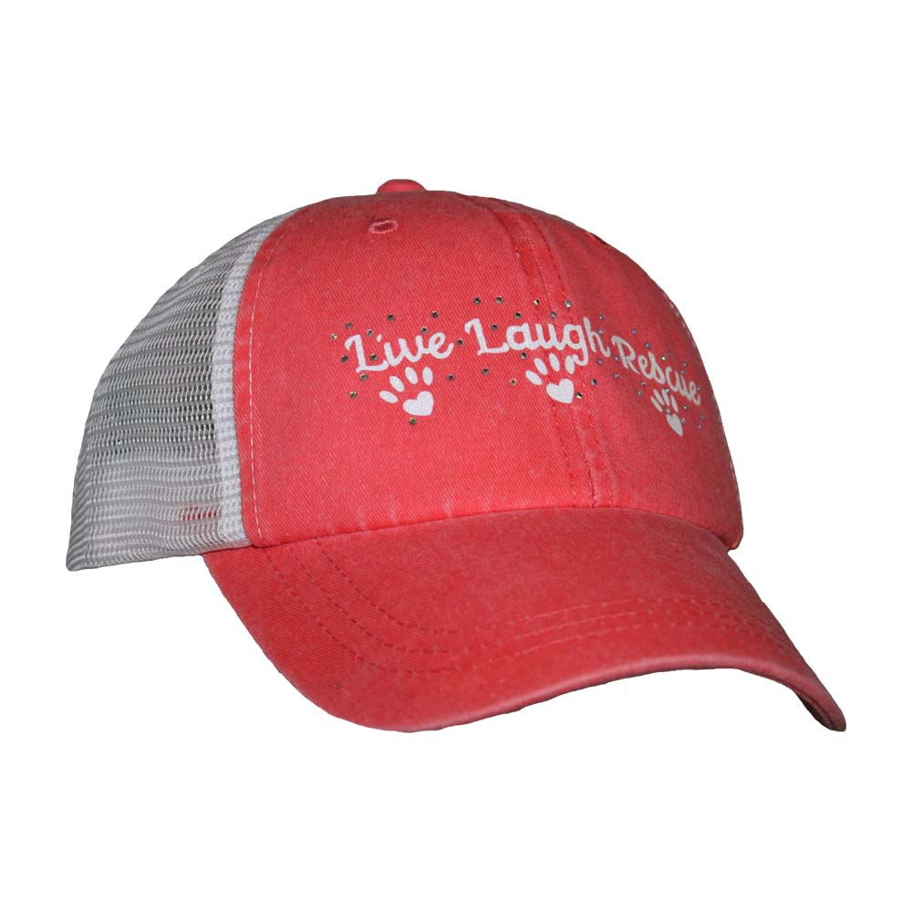 Live Laugh Rescue Mesh Cap