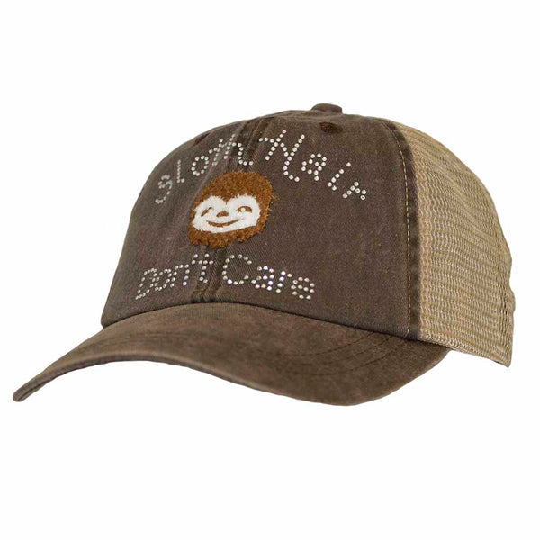 Sloth Hair Don't Care Mesh Cap