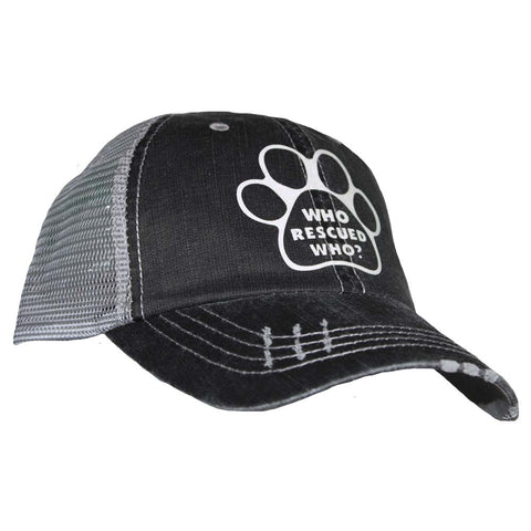 Paw - Who Rescued Who Mesh Cap