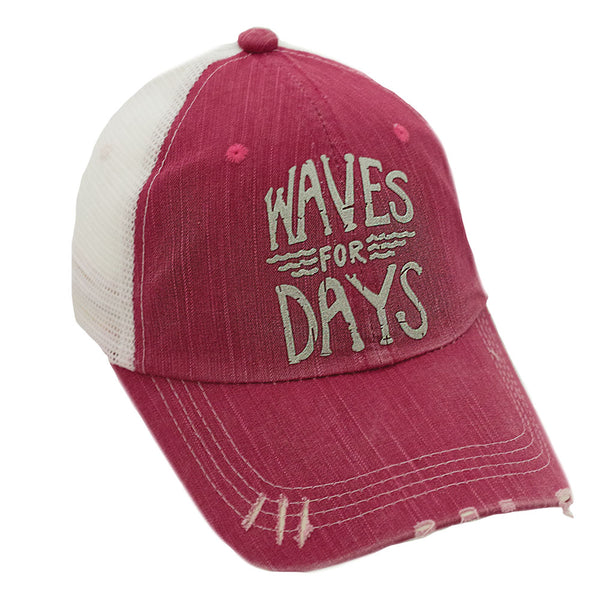 Waves for Days Mesh Cap