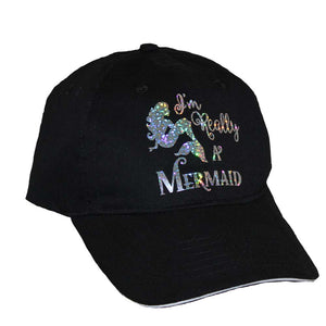 I'm Really A Mermaid Cap