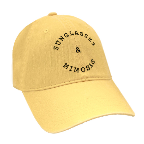 Sunglasses and Mimosas Cap