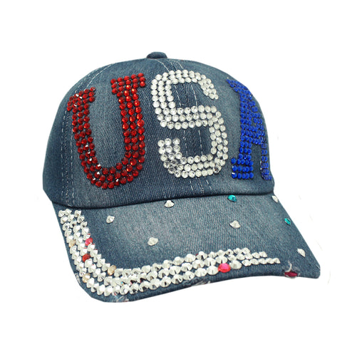 USA Denim Cap