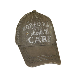 Rodeo Hair Don't Care Vintage Olive Cap