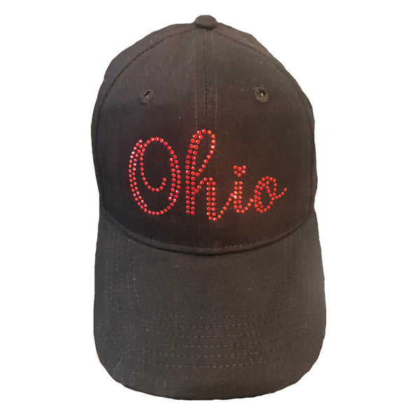 Ohio Red Crystals Cap
