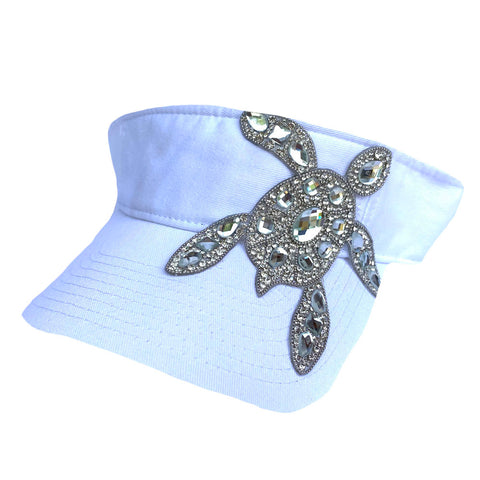 Clear Crystal Sea Turtle Visor