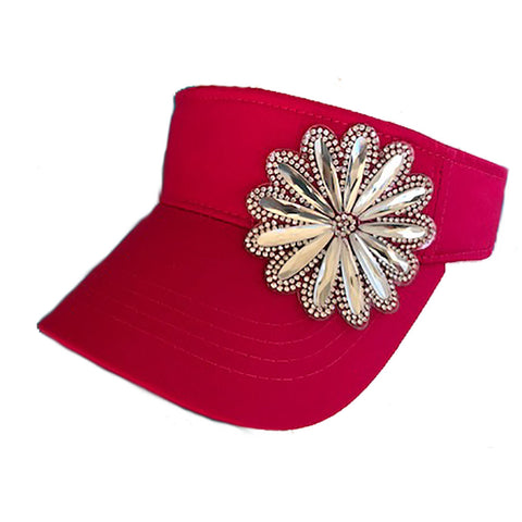 Crystallized Flower Visor