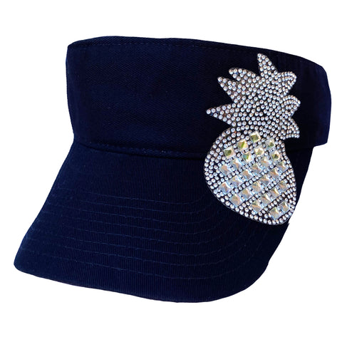 Crystal Pineapple Visor