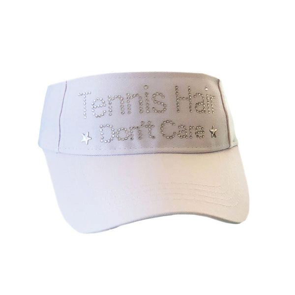 Tennis Hair Don't Care Visor