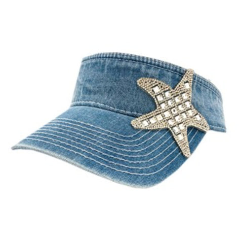 Crystallized Starfish Visor