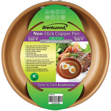 "Load image into Gallery viewer, Brentwood Nonstick Induction Copper Fry Pan (8"") - Northwest Homegoods"