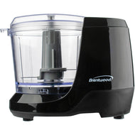 Brentwood 1.5-Cup Mini Food Chopper (Black) - Northwest Homegoods