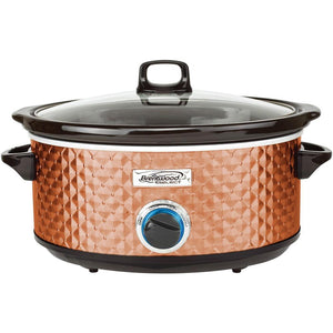 Brentwood 7-Quart Slow Cooker (Copper) - Northwest Homegoods