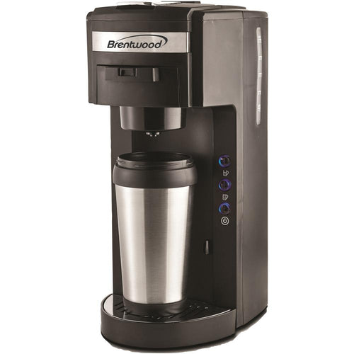 Brentwood Single-Serve Black Coffee Maker - Northwest Homegoods