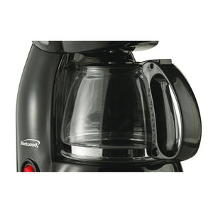 Brentwood 4-Cup Coffee Maker (Black) - Northwest Homegoods