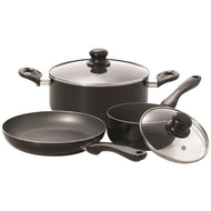 Starfrit Simplicity 5-Piece Cookware Set with Bakelite® Handles