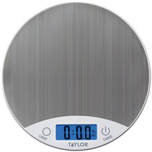 Load image into Gallery viewer, Taylor Stainless Steel Digital Kitchen Scale