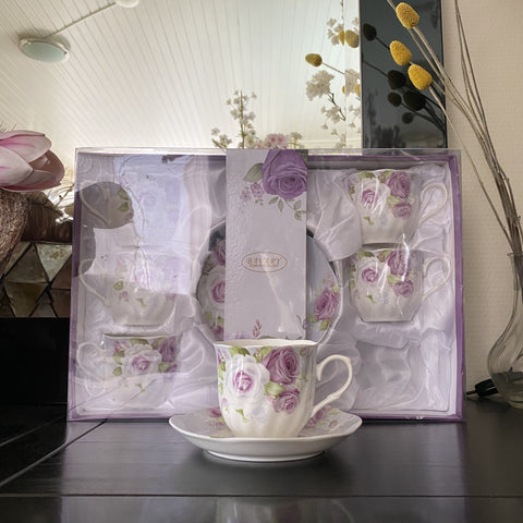SET KOFFIESERVIES BAVARY 12-DELIG PAARS (NOT USED)