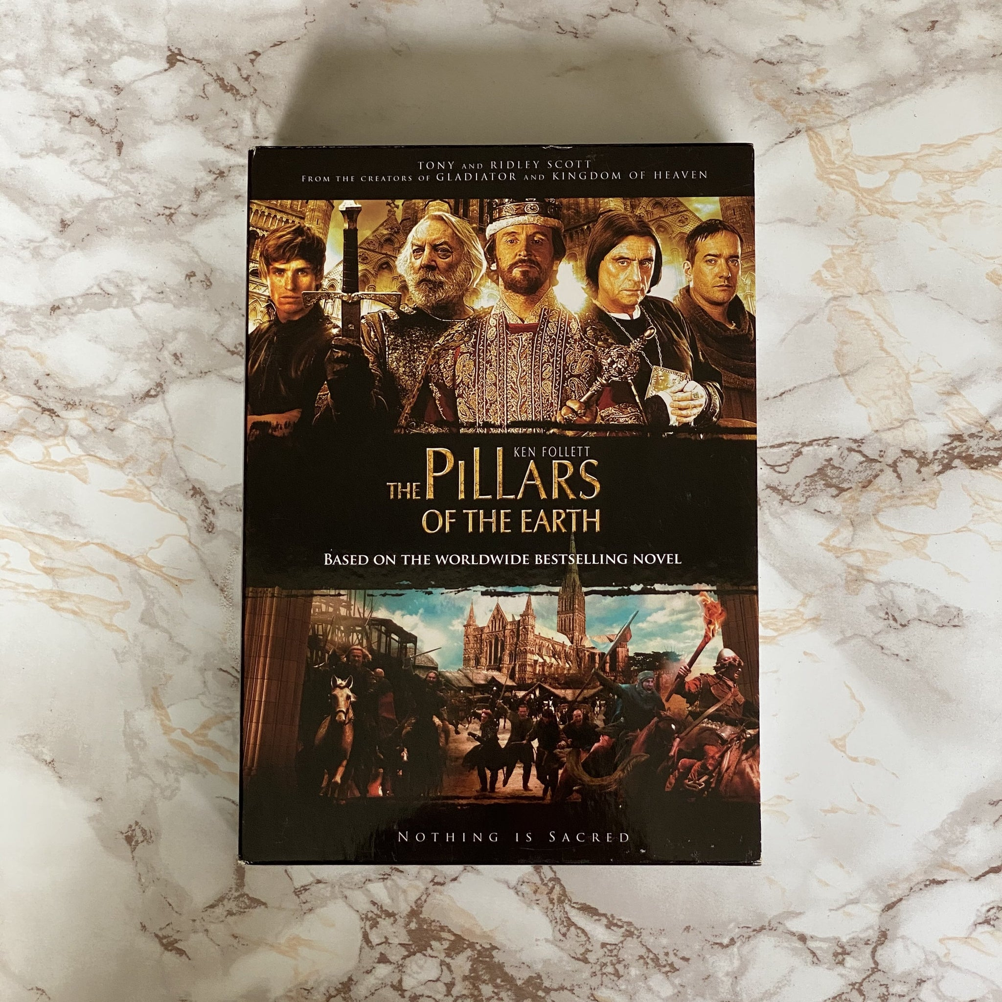 DVD BOX THE PILLARS OF THE EARTH TWEEDEHANDS THE PILLARS OF THE EARTH KOPEN ONLINE