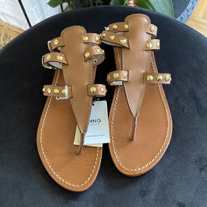 SANDALEN MANGO LEER (NOT USED)