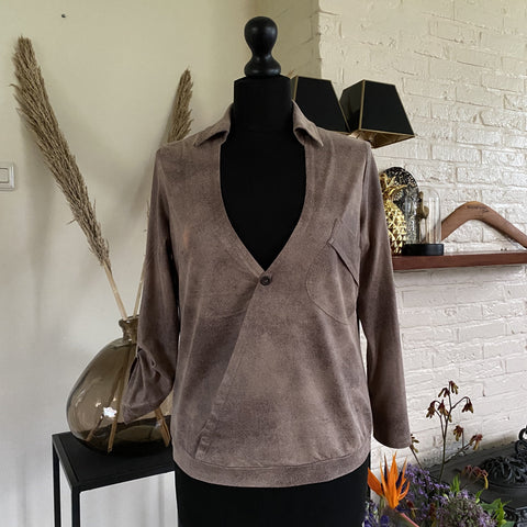 BLOUSE DREAMSTAR SUEDE LOOK