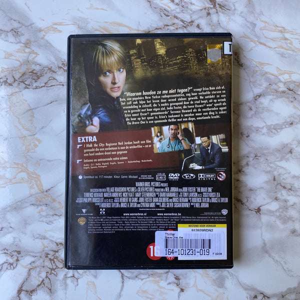 DVD THE BRAVE ONE JODY FOSTER