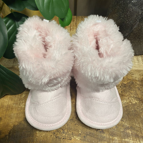 BOOTS BABY CLUB GIRLY PINK