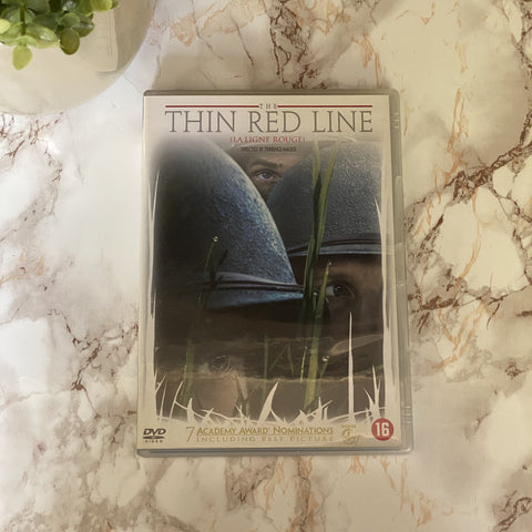 DVD THIN RED LINE TWEEDEHANDS THIN RED LINE DVD KOPEN